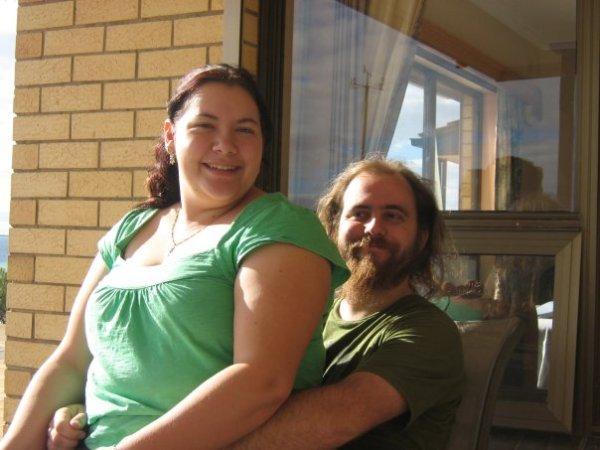 Aaron & Leisa (My nephew and his girlfreind)